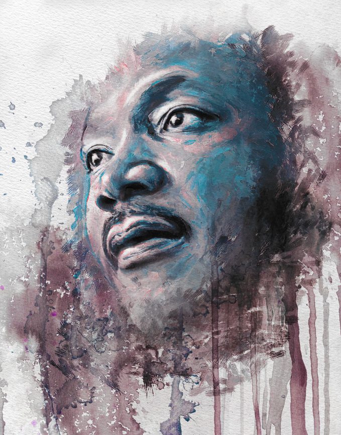 A Tribute to The Dreamer - Martin Luther King Jr. Art ...